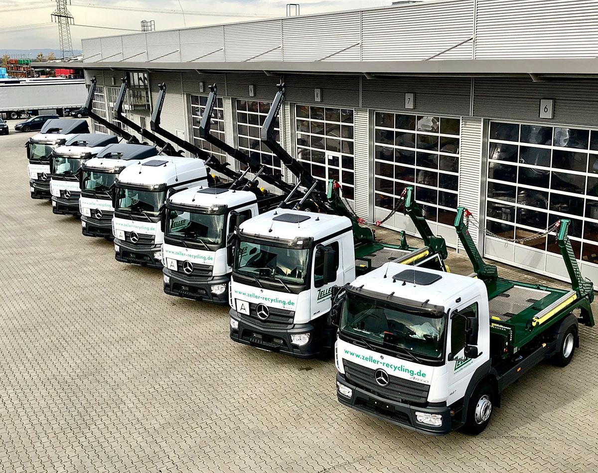 SUTTER Nutzfahrzeuge Fahrzeugbau LKW mit Aufbau