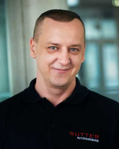 Paul Falkenberg Diagnosetechniker Mercedes-Benz
